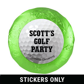 "Personalized Birthday Golf 1.25"" Stickers (48 Stickers)"