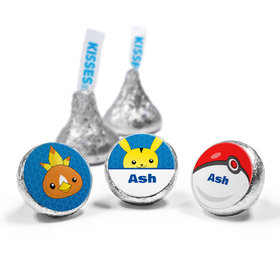 Personalized Birthday Pokemon Themed Hershey's Kisses (50 Pack)