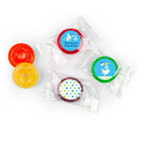 Personalized Baby Shower Blue Stork LifeSavers 5 Flavor Hard Candy (300 Pack)