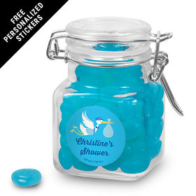 Baby Shower Personalized Latch Jar Special Delivery (12 Pack)