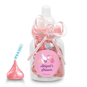 Baby Shower Personalized Pink Baby Bottle Special Delivery (24 Pack)