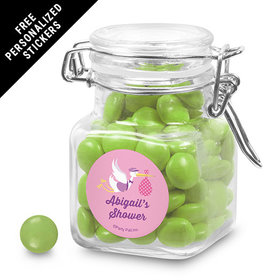 Baby Shower Personalized Latch Jar Favors Special Delivery (12 Pack)