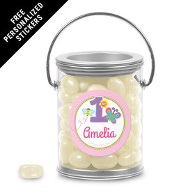 Birthday Personalized Paint Can Butterfly 1st Birthday (25 Pack)