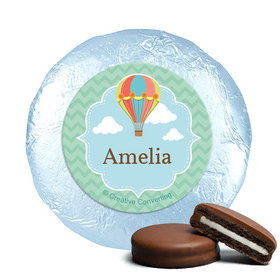 Personalized Birthday Balloons Milk Chocolate Covered Oreos (24 Pack)