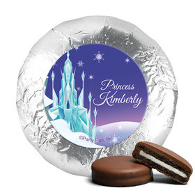 Personalized Birthday Ice Princess Belgian Chocolate Covered Oreos (24 Pack)