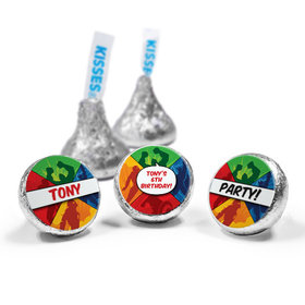 Personalized Birthday Avenger Hershey's Kisses (50 Pack)