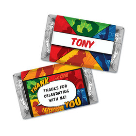 Personalized Birthday Avenger Hershey's Miniatures
