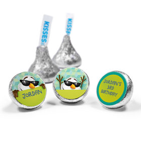 Personalized Birthday Snowman Hershey's Kisses (50 Pack)