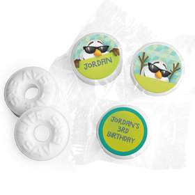 Personalized Birthday Snowman Life Savers Mints