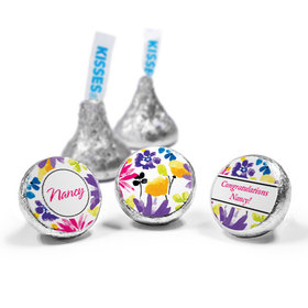 Personalized Birthday Garden Blooms Hershey's Kisses (50 Pack)