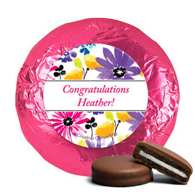 Personalized Birthday Garden Blooms Milk Chocolate Covered Oreos