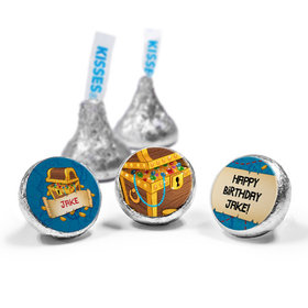 Personalized Birthday Pirates Hershey's Kisses (50 Pack)