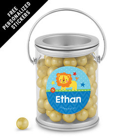Birthday Personalized Paint Can Lion 1st Birthday (25 Pack)