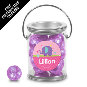 Birthday Personalized Paint Can Elephant 1st Birthday (25 Pack)