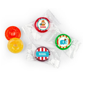 Personalized Birthday Circus Life Savers 5 Flavor Hard Candy