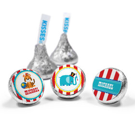 Personalized Birthday Circus Hershey's Kisses (50 Pack)