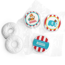 Personalized Birthday Circus Life Savers Mints