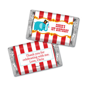 Personalized Birthday Circus Miniatures Wrappers