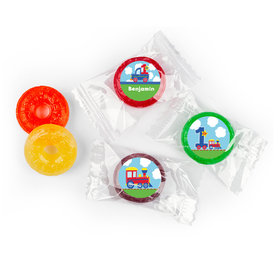 Personalized First Birthday Train Life Savers 5 Flavor Hard Candy