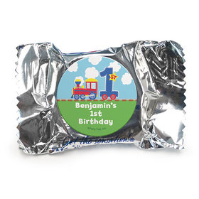 Personalized First Birthday Train York Peppermint Patties