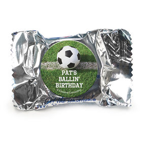 Personalized Birthday Soccer Balls York Peppermint Patties