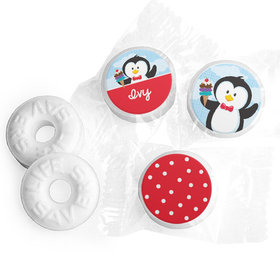 Personalized Birthday Penguin Life Savers Mints (300 Pack)