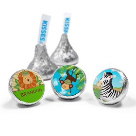 Personalized Birthday Safari Hershey's Kisses (50 Pack)