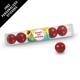 Birthday Personalized Gumball Tube Frog Pond (12 Pack)