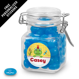 Birthday Personalized Latch Jar Frog Pond (12 Pack)
