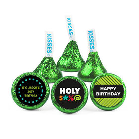 Personalized Birthday Bleep Hershey's Kisses (50 pack)