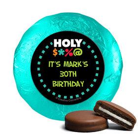 Personalized Birthday Bleep Milk Chocolate Covered Oreos (24 Pack)