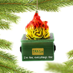 Personalized Dumpster Fire
