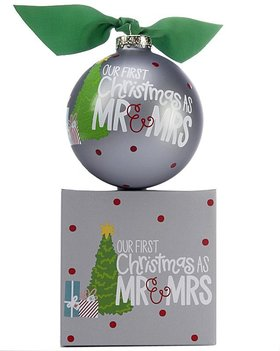 Personalized Our First Christmas as Mr. & Mrs. Christmas Tree