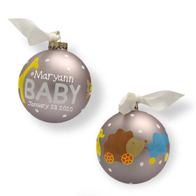 Personalized New Baby Toys