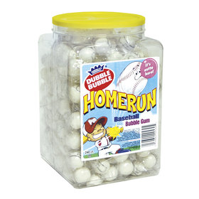 Dubble Bubble Homerun Baseball Gumballs