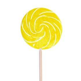 "Lemon 3"" Swirly Pop"