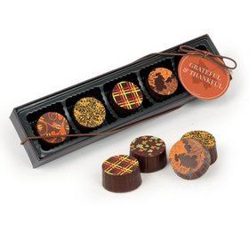Belgian Chocolate Truffles Gift Box (5pc)