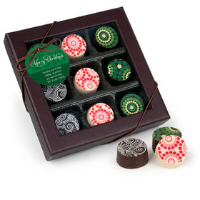 Belgian Chocolate Truffles Gift Box (9ct)