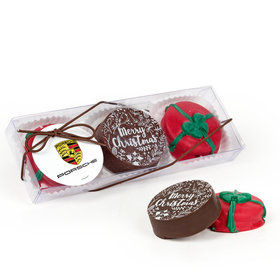 Christmas Belgian Chocolate Covered Oreo Gift Set (3pc)