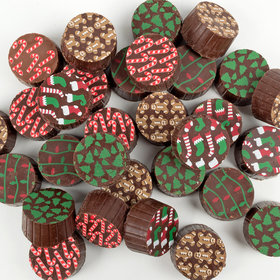 Christmas Belgian Chocolate Truffles (70Ct)