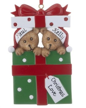 Personalized Bear Present Couple