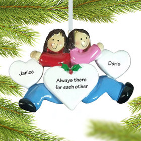 Personalized Twins, Sisters, Cousins or Friends