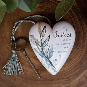 Personalized Sisters, A Bond that's Strong Heart