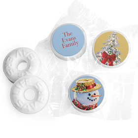 Personalized Life Savers Mints - Christmas Silent Night Lane