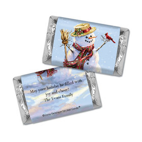 Personalized Hershey's Miniatures - Christmas Silent Night Lane