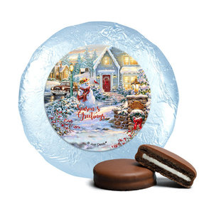 Christmas Chocolate Covered Oreos - Silent Night Lane