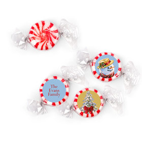 Personalized Starlight Mints - Christmas Silent Night Lane (405 Pack)