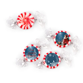 Personalized Starlight Mints - Christmas Starry Night Santa (405 Pack)