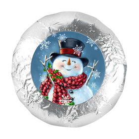 "Christmas 1.25"" Stickers - Jolly Snowman (48 Stickers)"