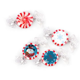 Personalized Starlight Mints - Christmas Jolly Snowman (405 Pack)